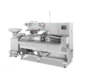 Automatic Food Toffee Tablet Sugar Candy Pillow Flow Packing Machine Price