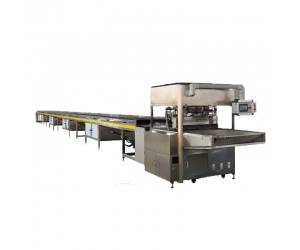 B0837 Full Automatic Chocolate Waffel Coating Machine