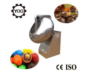 D1533 Hot Sale Chocolate Coffee Bean Panning Machine