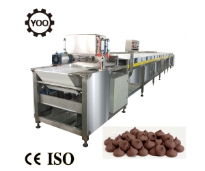 E0101 hot automatic commercial chocolate chips depositor machine