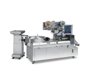 High efficiency horizontal automatic pillow bag packing machine for biscuit/cookies/waffles