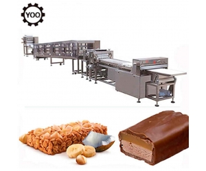 Wholesale Snicker production line, automatic snack snicker bar forming line