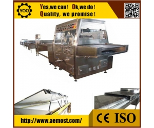 automatic chocolate enrobing machine, automatic chocolate equipment