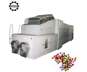 chocolate beans production line, high quality chocolate bean machine