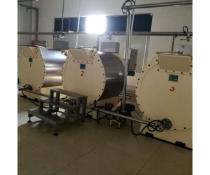 chocolate mass processing machine 500L automatic grinding equipment made in China