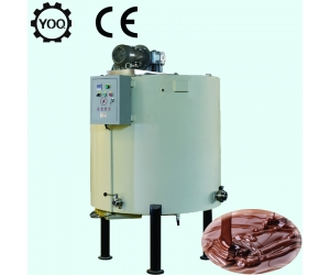 chocolate melting machine with holding tank, professional chocolate holding tank