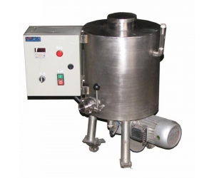 chocolate melting machine with holding tank, stainless steel chocolate syrup holding tank