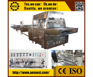 cooling tunnels for enrobing, automatic chocolate making machine