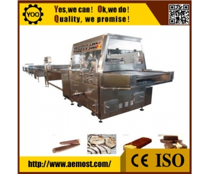 small chocolate making machine manufacturer, cooling tunnels for chocolate enrobing