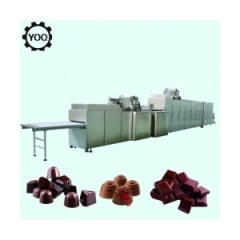 China Automatic moulding line for filled chocolate juice machine fábrica
