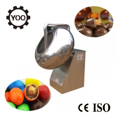 China D1533 Hot Sale Chocolate Coffee Bean Panning Machine factory