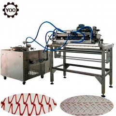 Chine Factory Chocolate Making Machine Automatic Production Line Chocolate Decorating Machine usine