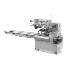 China High Speed Automatic Horizontal Pillow Packing Machine For Chocolate Packing factory