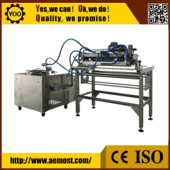 China chocolate decorative pattern making machines/chocolate garland machine for chocolate enrober/chocolate bar production line factory