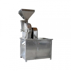 China medium sugar turmeric chili salt herb powder grinder machine factory