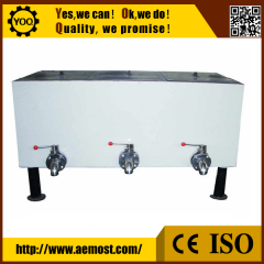 Chine Stainless steel electrical heating mixing agitator storage holding chocolate melting tank usine