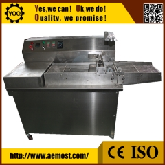 China Small chocolate making machine manufacturer with tempering and enrobing machine factory