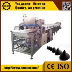 China Nice automatic chocolate equipment, Chocolate Chip  Depositing Machine factory