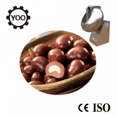 China chocolate candy with nuts making machine uniform coated chocolate coating pan-Fabrik