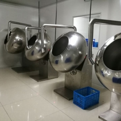 China automatical chocolate polish pan machine, chocolate panning machine for polishing factory