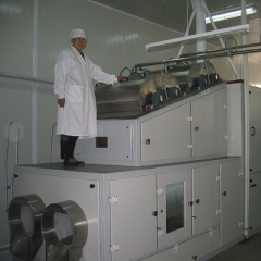 China chocolate bean processing line, chocolate beans equipment factory