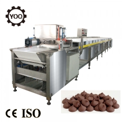 China chocolate chips depositor machine/Chocolate deposting production line for making chocolate drops machine factory