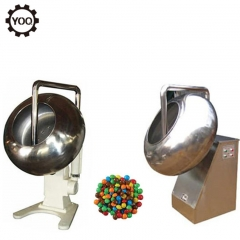 China chocolate enrobing polishing machine, chocolate coating polishing pan machine factory
