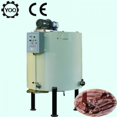 China chocoladesmeltmachine met vuilwatertank, professionele chocoladetank fabriek