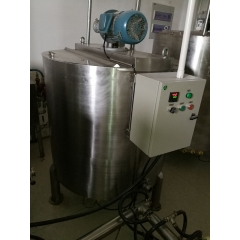 China chocolate syrup holding tank for sale, hot chocolate holding tank for factory use factory