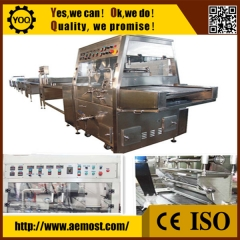 China cooling tunnels for enrobing, automatic chocolate making machine factory