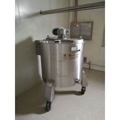 China high quality chocolate syrup holding tank, chocolate holding storage tank factory