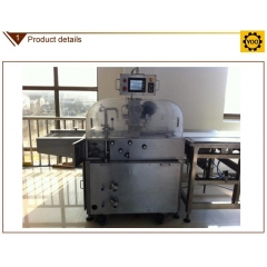China hocolate enrobing line company, automatic chocolate making machine factory
