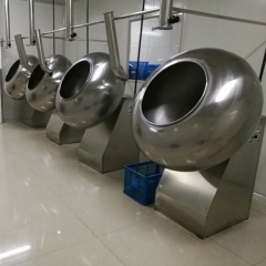 China professical automatic chocolate polish pan machine, chocolate polishing coating machinery factory