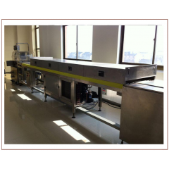 China small chocolate making machine manufacturer, chocolate enrobing machine on sale factory