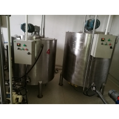 China stainless steel chocolate syrup holding tank, best quality chocolate holding tank factory