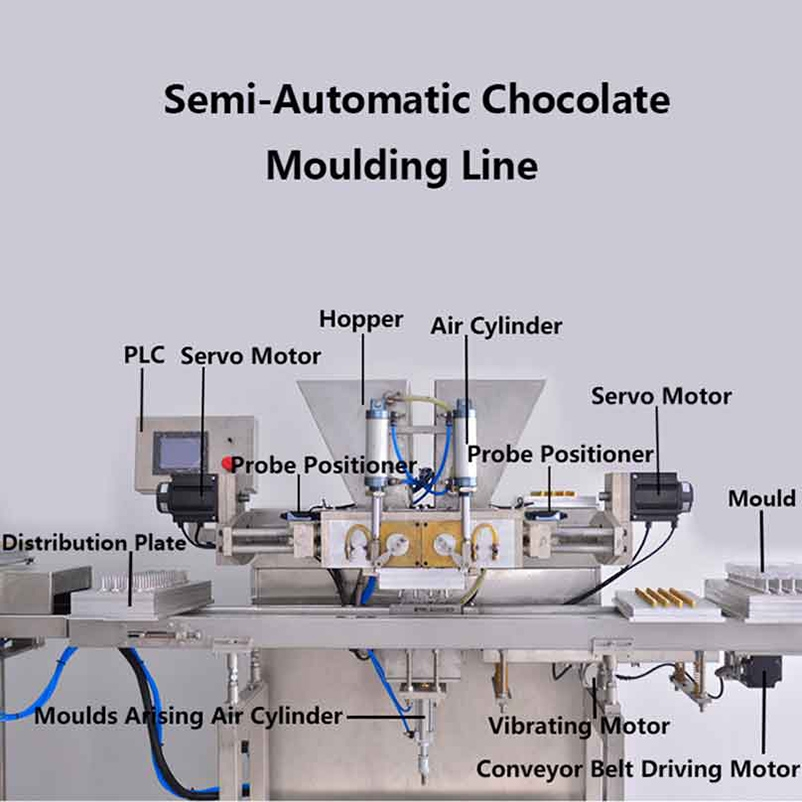Automatic Chocolate Equipment Chocolate Machine
